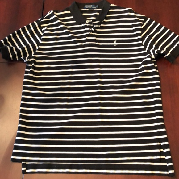 33c67c1a Polo by Ralph Lauren Shirts | Mens Polo Shirt Black And White ...